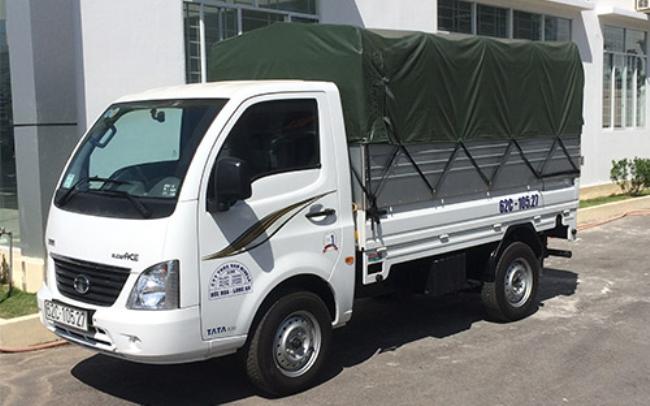 Xe tải TaTa thùng bạt
