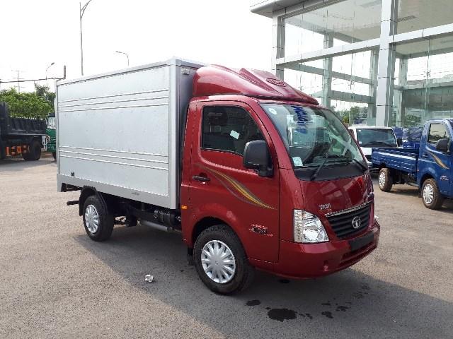 Xe tải TaTa thùng kín
