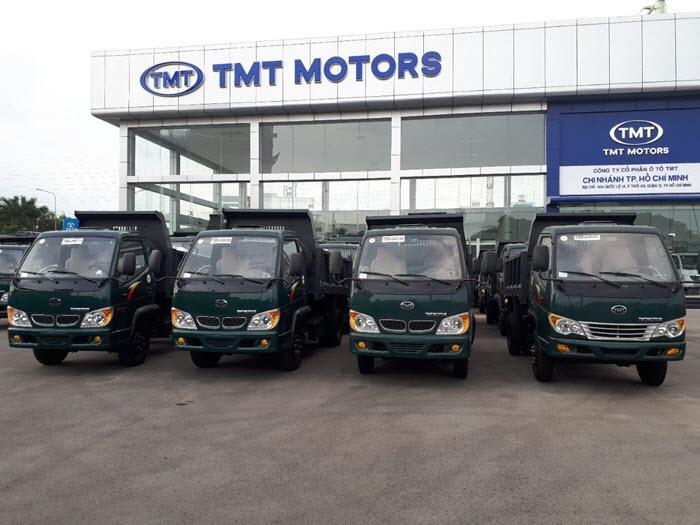 Xe ben TMT 2t4 máy Hyundai